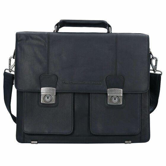 The Chesterfield Brand George Serviette cuir 39 cm compartiment Laptop