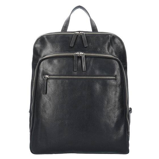 Leonhard Heyden Roma Sac à dos cuir 40 cm compartiment Laptop