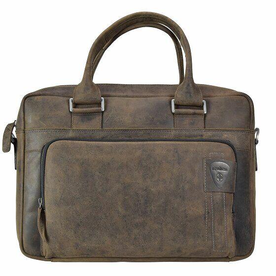 Strellson Richmond Serviette - Porte-documents avec compartiment ordinateur portable cuir 40 cm