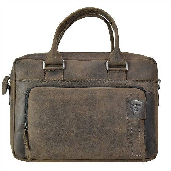 Strellson Richmond Serviette - Porte-documents avec compartiment ordinateur portable cuir 40 cm
