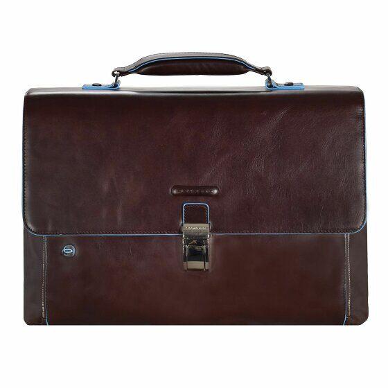 Piquadro Blue Square Serviette II cuir 40 cm compartiment Laptop