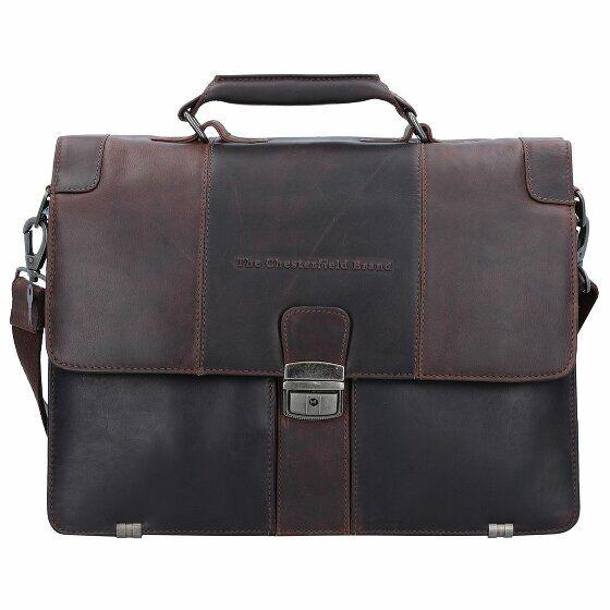 The Chesterfield Brand George Serviette cuir 38 cm compartiment Laptop