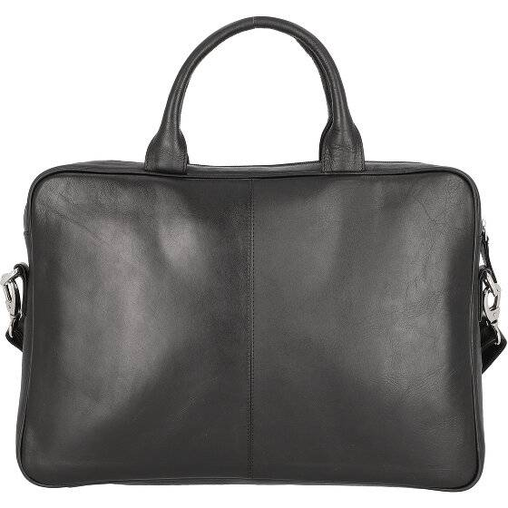 Dermata Serviette - Porte-documents cuir 39 cm compartiment ordinateur portable