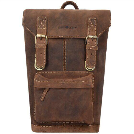 Greenburry Vintage Sac à dos cuir 42 cm compartiment Laptop