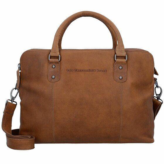 The Chesterfield Brand Stephanie Serviette cuir 39 cm compartiment Laptop