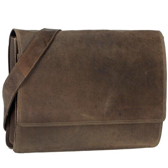 Harold's Antico Sac bandoulière cuir 38 cm compartiment ordinateur portable