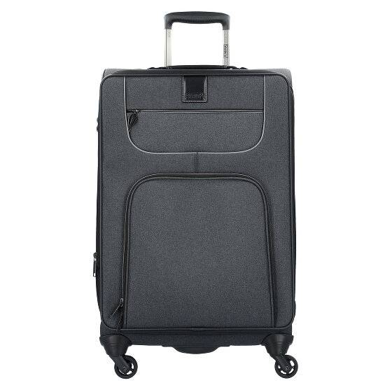 Stratic Go First M Valise 4 roulettes 69 cm Black