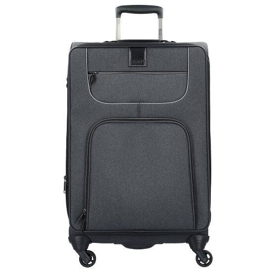 Stratic Go First L Valise 4 roulettes 80 cm Black