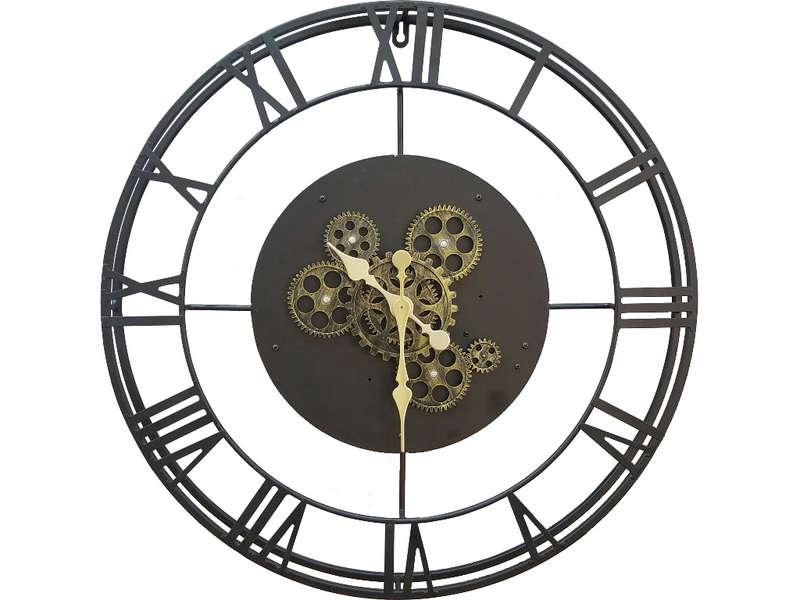 CONFORAMA Horloge 57 cm RITA coloris noir