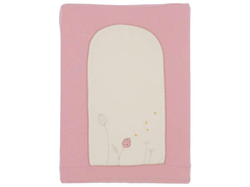 CONFORAMA Matelas à langer CALINOU coloris rose motif licorne