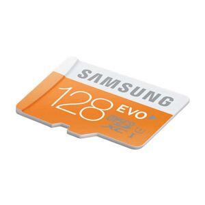 SAMSUNG Carte mémoire micro SD 128 GO SAMSUNG SAMP128DA EVO - Publicité