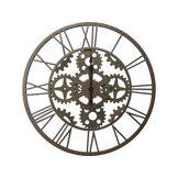CONFORAMA Horloge ROUAGE coloris gris