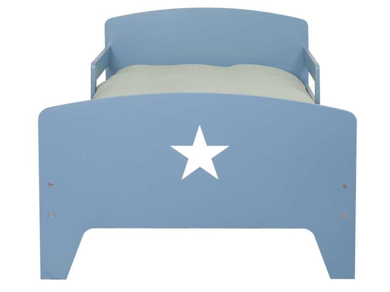 CONFORAMA Lit évolutif 90x141/170/200 cm STAR coloris bleu