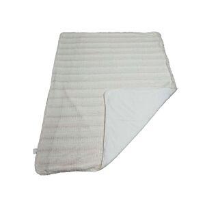 CONFORAMA Plaid 180x230 cm BUNNY 2 coloris blanc cassé - Publicité