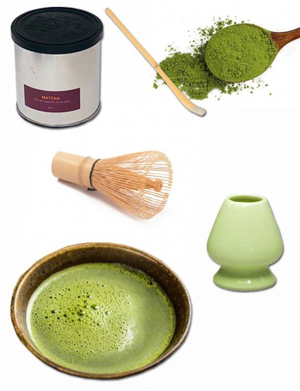 Ensemble Thé Matcha du Japon