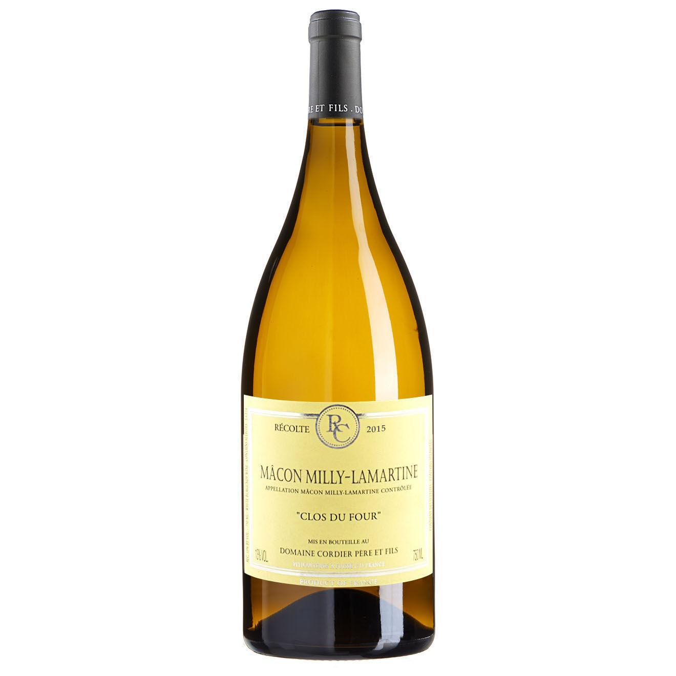 Bourgogne - 1 Magnum Mâcon-Milly-Lamartine Clos du Four 2015 Christophe Cordier 1.5L