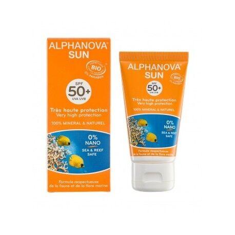ALPHANOVA Lait Solaire Bio 50+ - 50g - Alphanova Sun