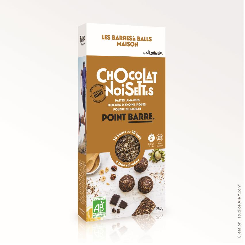 Fee Natura Kit Energy Ball Maison - Chocolat noisettes - 250 g