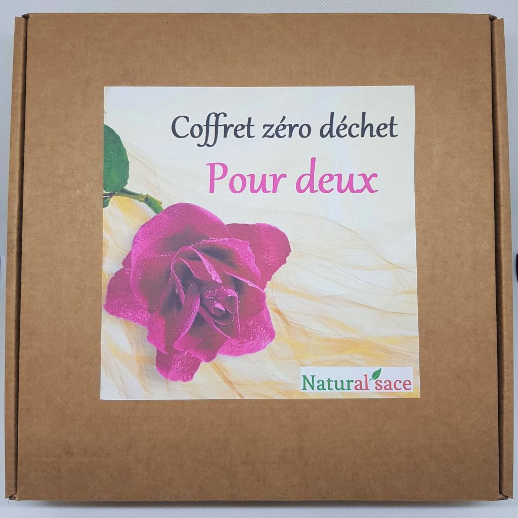 Natural'sace Coffret zéro déchet pour deux (édition mariage)
