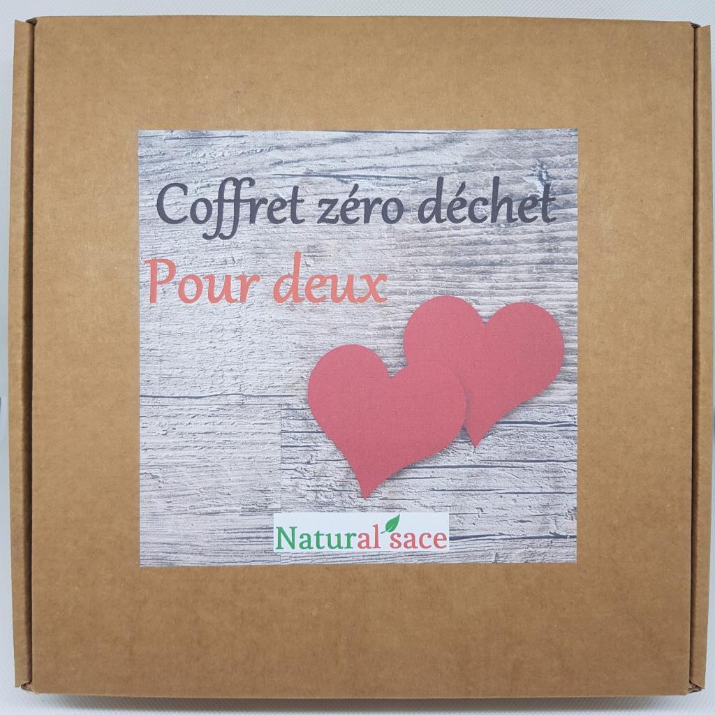 Natural'sace Coffret zéro déchet pour deux (édition couple)