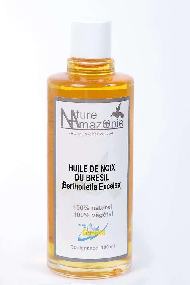 Nature Amazonie Distribution Production Huile de Noix du Brésil 100ml