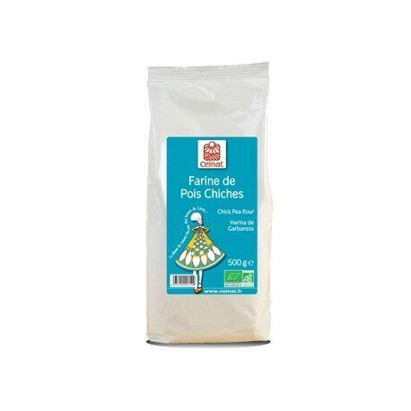 CELNAT Farine de Pois Chiches 500g-Celnat