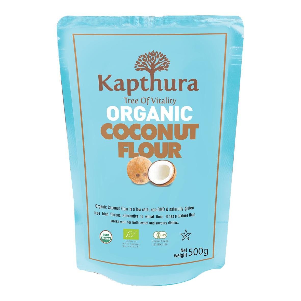 Lechoppebio Farine de Noix de Coco Bio 500g - Kapthura