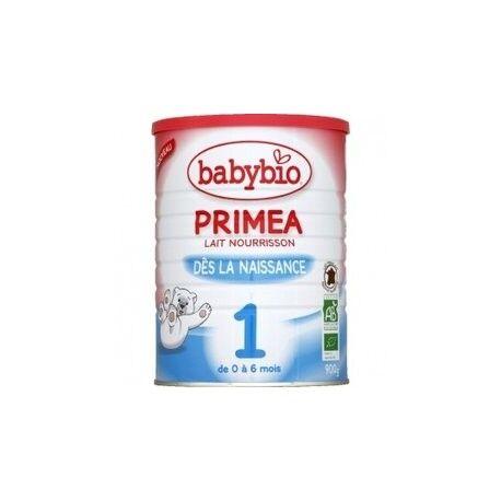 BABYBIO Primea 1 Lait Pour Nourrissons Bio de 0 à 6 Mois - 900gr - Babybio