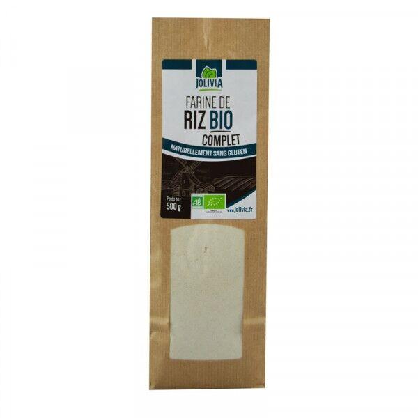ECOCERT Farine de Riz Complet Bio - 500 g