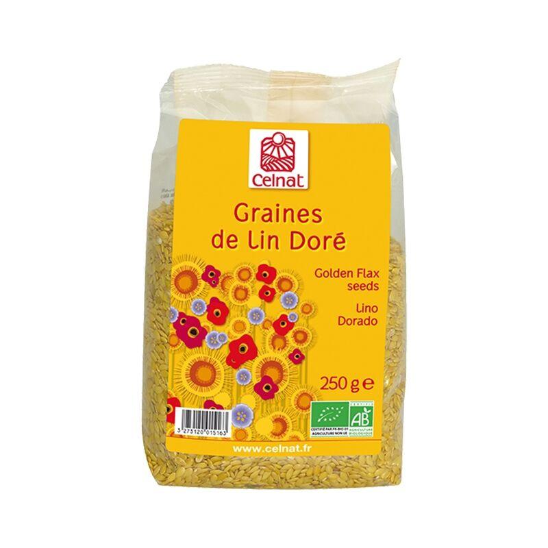 CELNAT Graines de Lin Doré 250g-Celnat
