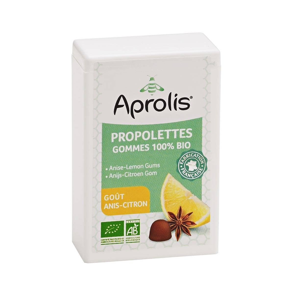 APROLIS Propolettes Anis-Citron 50g Bio - Aprolis