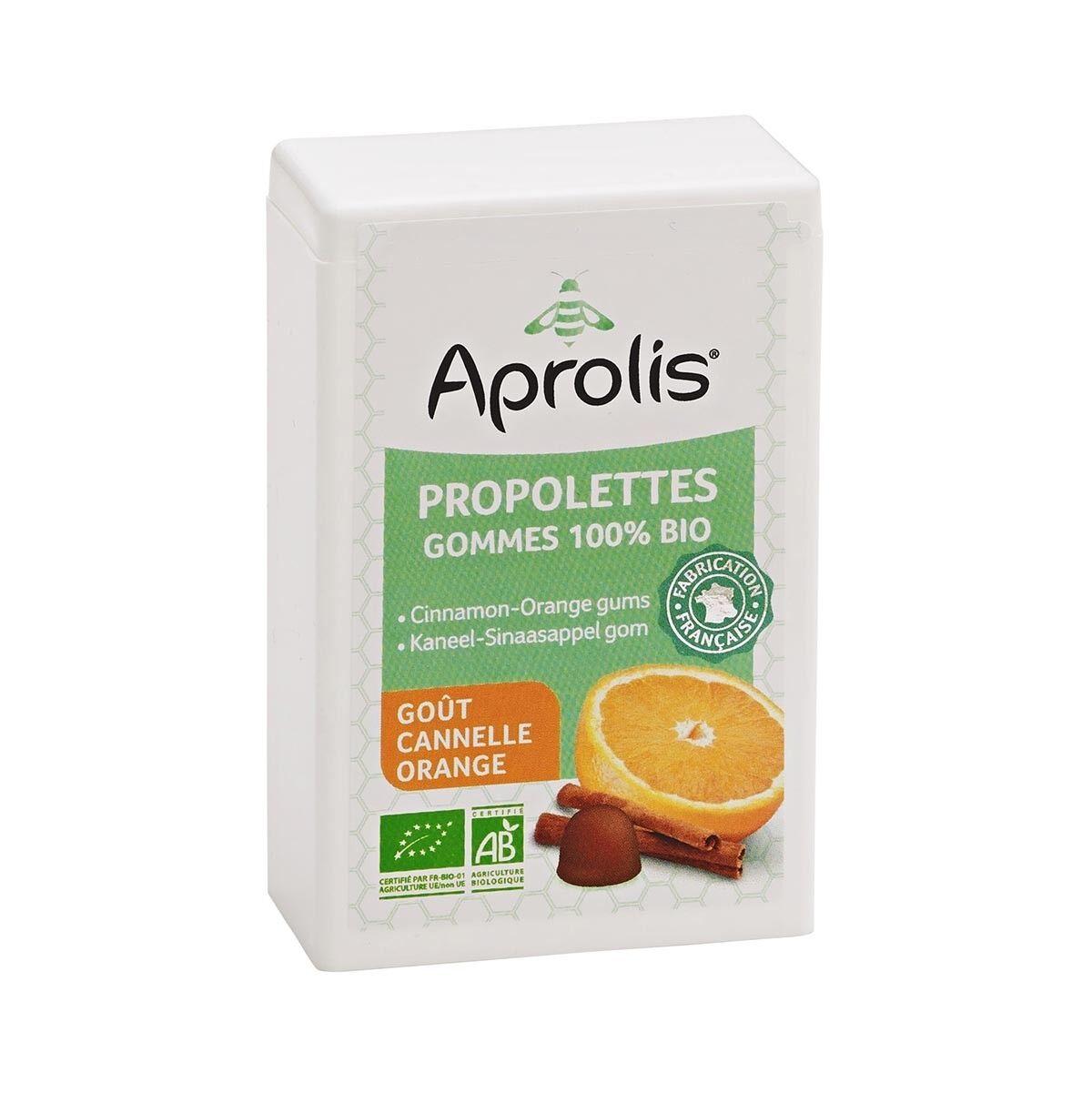 APROLIS Propolettes Cannelle-Orange 50g Bio - Aprolis