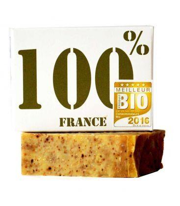 """LA SAVONNERIE BOURBONNAISE Savon """"Le 100% France"""" à l'huile..."""
