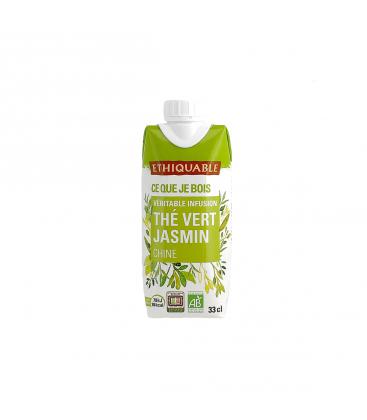ETHIQUABLE Infusion glacée thé vert jasmin bio & équitable