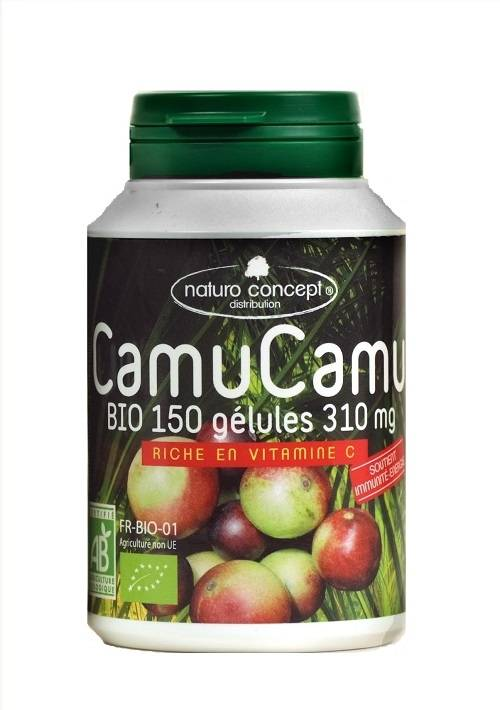 Naturo Concept Camu camu bio - 150 gélules