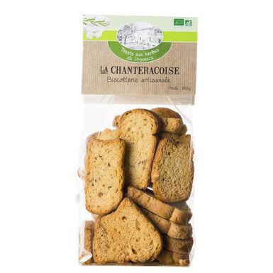 Les Délices De Sarah Toasts aux herbes de provence  140g--la chanteracoise