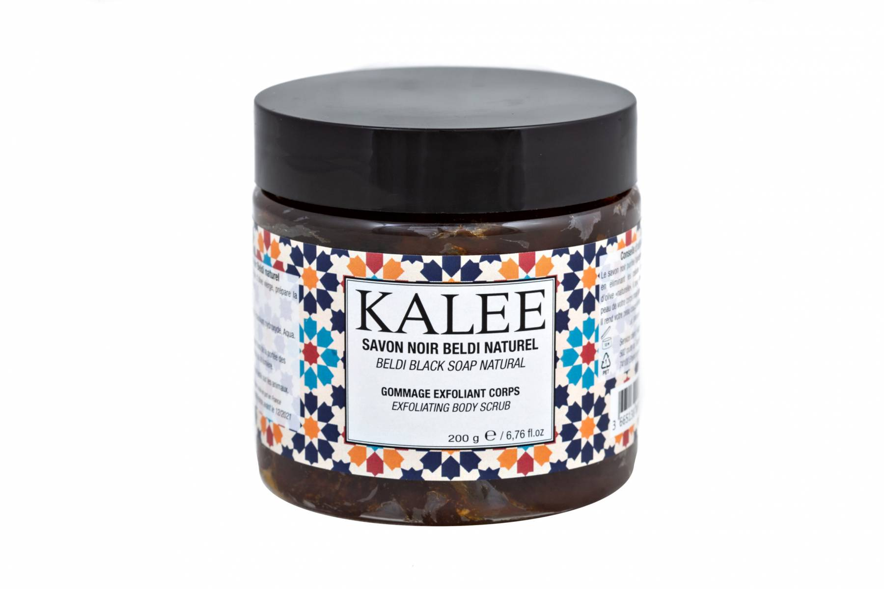 Kalee Beauty Savon noir beldi gommage corps