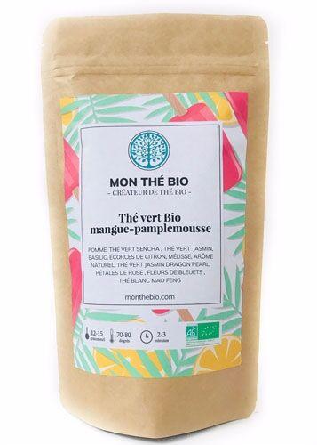 Mon The Bio Thé glacé Mangue-pamplemousse BIO