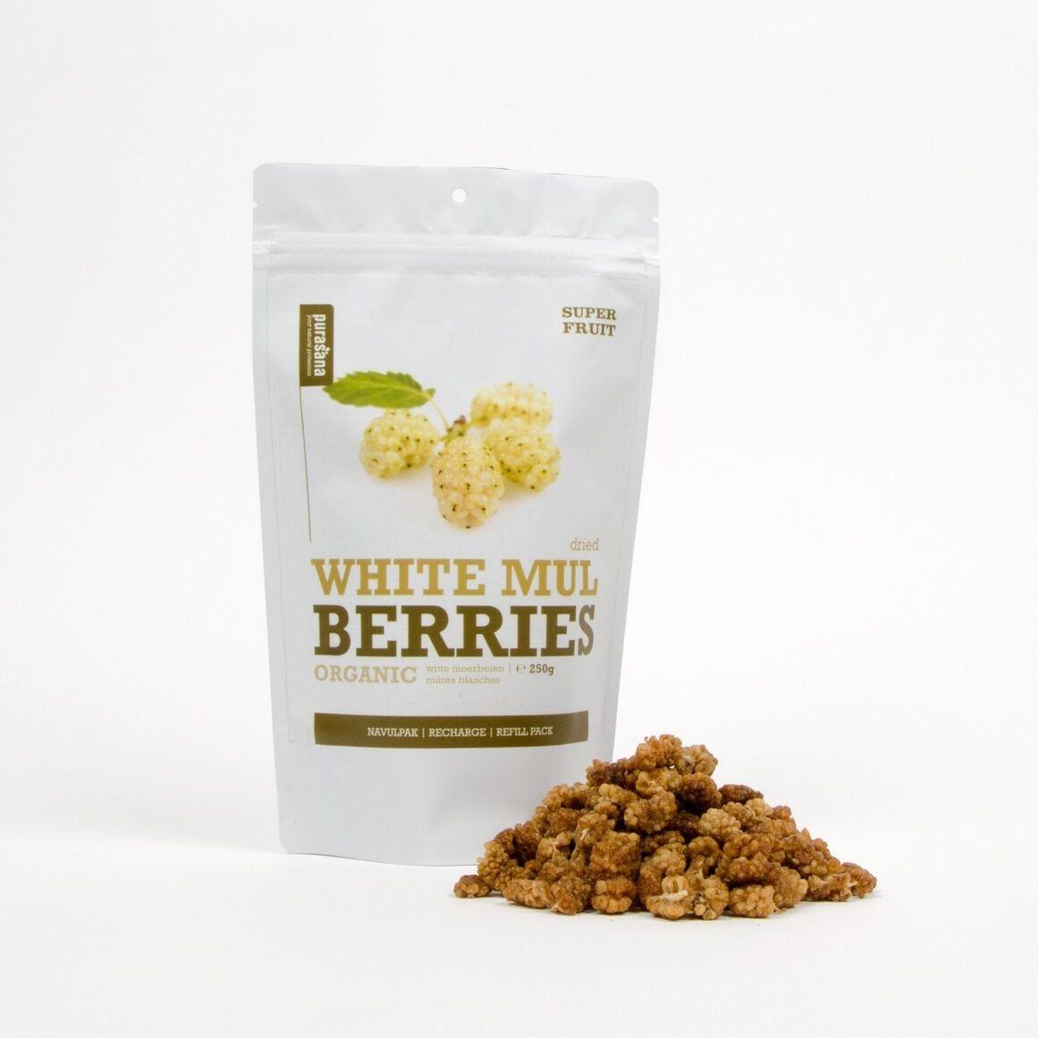 Santé Détox Mures Blanches (White Mulberries) Bio