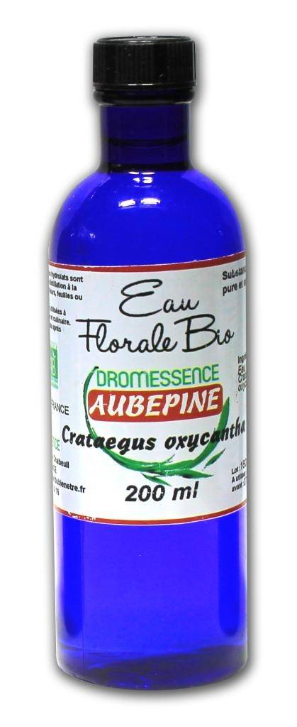 Dromessence Hydrolat (ou eau florale ) Aubépine BIO 200 ML DROMESSENCE