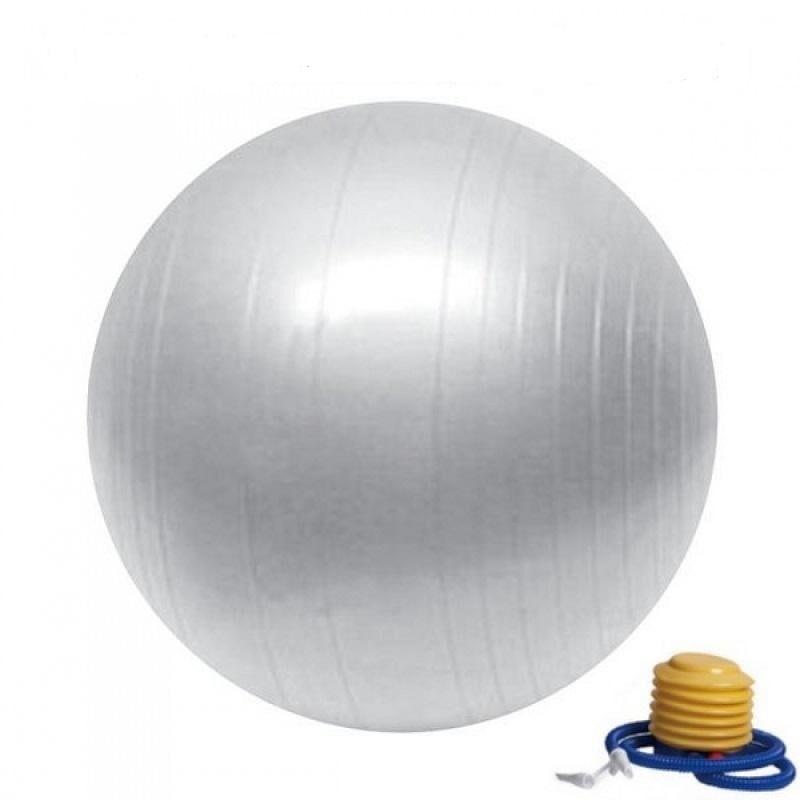 Sun Ballon de Yoga / Fitness Taille S 55 cm argenté