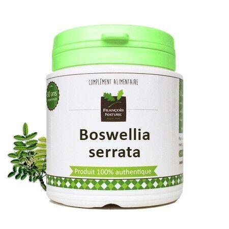 François Nature Boswellia serrata Gélules ou poudre240 gélules gélatine végétale