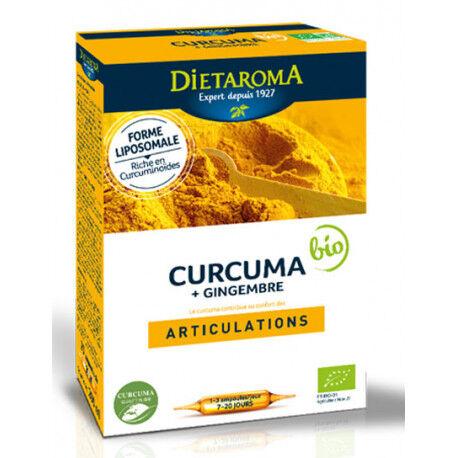 DIETAROMA CURCUMA Gingembre