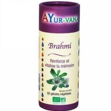 ECOCERT Brahmi BIO - Ayurvana - 60 gélules