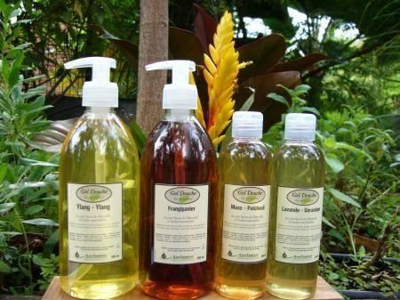 Synergies Distributeur Run'essence Gel douche bio et naturel au pur savon de Marseille aux huiles...