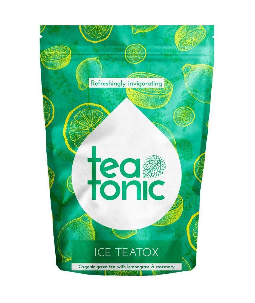 Teatonic - ICE TEATOX - Thé glacé détox biologique - 20 infusettes