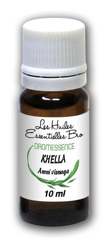 Dromessence Huile essentielle de Khella BIO (Amni visnaga) 10 ml DROMESSENCE