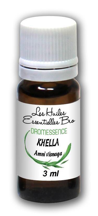 Dromessence Huile essentielle de Khella BIO ( Amni visnaga) 3 ml DROMESSENCE