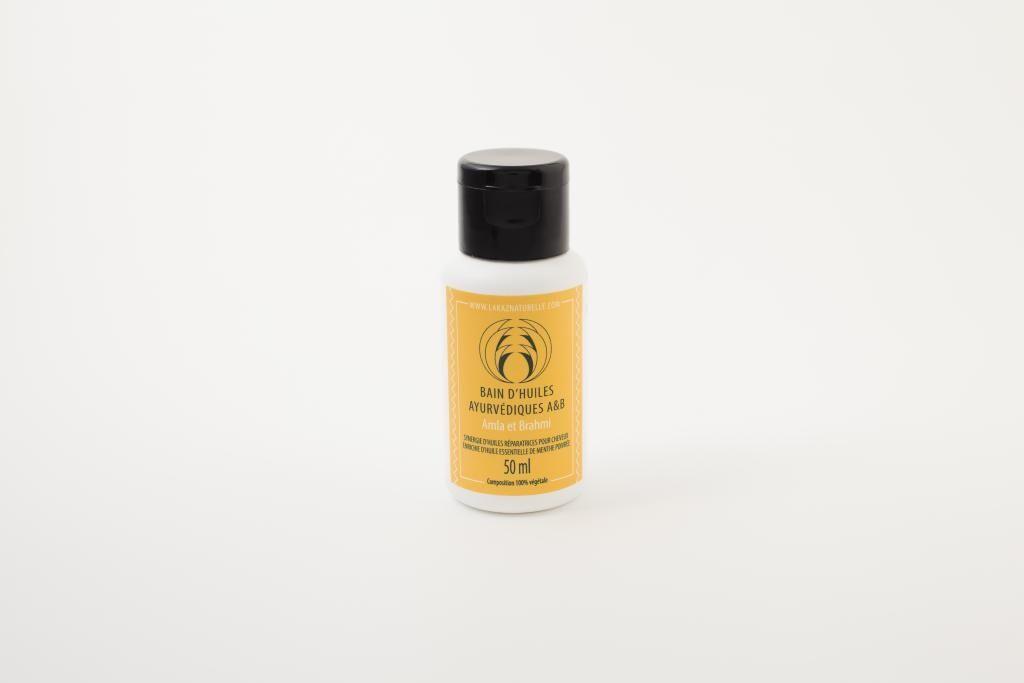 La Kaz Naturelle Bain d'huiles A&B; Ayurvédiques Amla & Brahmi - 50ml
