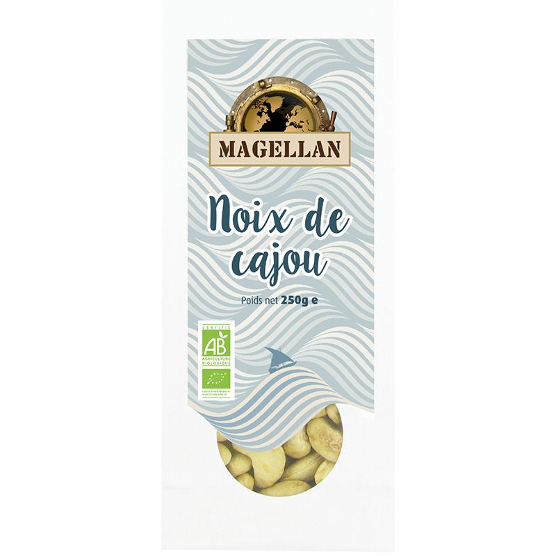 Biorgania Noix de cajou BIO 250g - sachet vrac Magellan